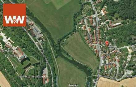 Grundstücksjuwel Eichstätt Marienstein mit Aussicht auf die Willibaldsburg