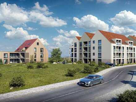 Großzügige 1-Zimmer-Seniorenwohnung mit Terrasse (Whg. 2+3)