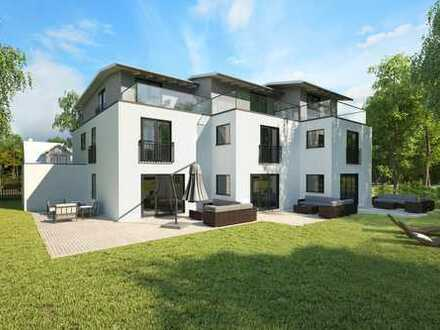 **NEU** Familienglück in Germering **  Modernes Architektenhaus  mit großem S/W-Garten