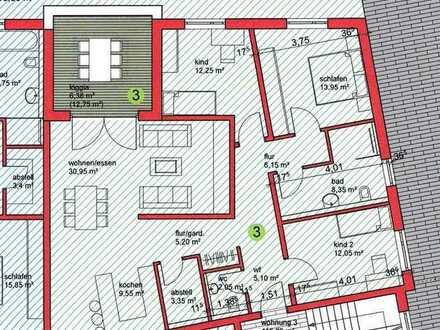 EG 4,5 Zi. Wohnung in Bad Rappenau - Bonfeld mit eigenem Garten,
