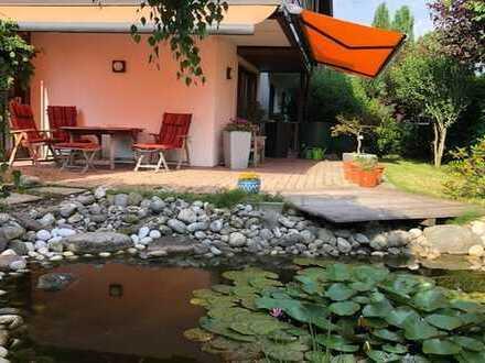 Traumhaft sonnige 5-Zimmer Wohnung mit Doppelhaus-Charakter und großem Garten in Bad Aibling