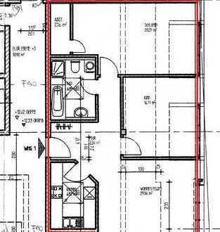 Gepflegte 3-Zimmer-Dachgeschosswohnung mit Einbauküche in Pirmasens