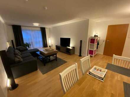 Gepflegte 4-Raum-Maisonette-Wohnung mit Balkon in Berglen