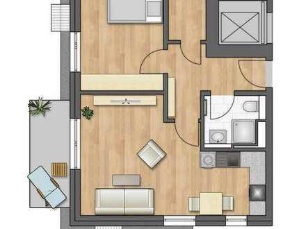 Moderne Dachgeschoßwohnung! (1.09)