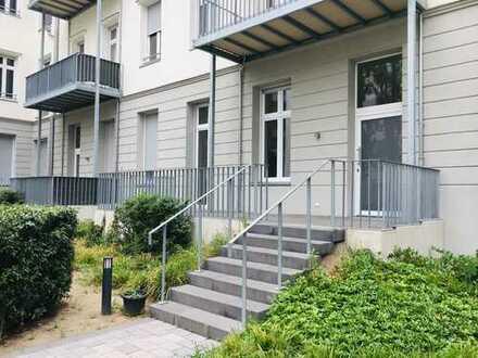 Maisonette-Wohnung mit direktem Zugang!