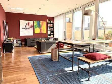 Traumblick - Penthousewohnung im Herzen von Durlach