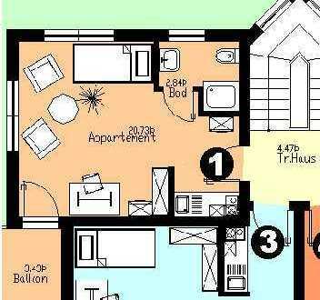 """Wohnung für Studenten im Haus """"Andy"""" in Morsbach"""