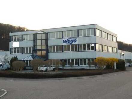 Repräsentatives helles Büro mit guter Verkehrsanbindung im Industriegebiet Brühl Uhingen