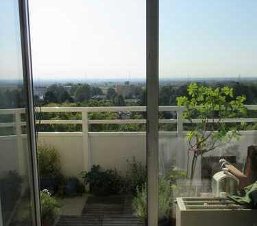 Vermietete 2 Zi. - Wohnung mit Blick in die Rhein-Main-Ebene in Marxheim sucht Kapitalanleger