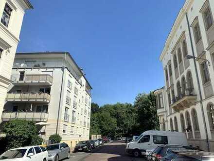 Traumhafte 3-Zimmer-Wohnung direkt am Rosental in Leipzigs Waldstrassenviertel