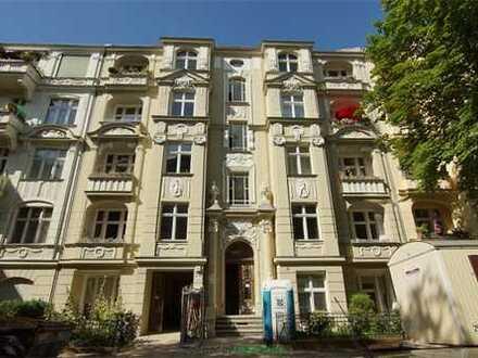 Eine Jugendstilikone blüht auf: Altbauwohnung mit Balkon - vermietet