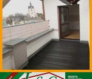 Ihr Wohntraum! - 3-Raum DG-Wohnung AB SOFORT im Villenviertel mit BALKON!