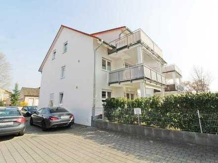 Repräsentative und neuwertige 4-Zimmer-Eigentumswohnung mit großem Balkon im Zentrum von Gernsheim