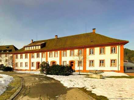 Denkmalgeschützte Immobilie direkt im Kurpark am Dom St. Blasien