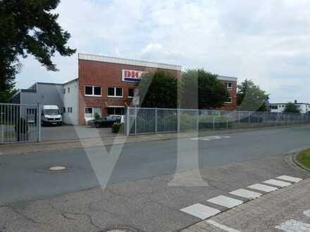 Logistikimmobilie in Delmenhorst Annenheide (Teilanmietung Büros / Lager von 180 m² bis 2000 m²)