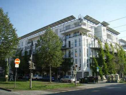 Schöne 2-Zimmer-Wohnung mit Dachterrasse und herrlichem Ausblick