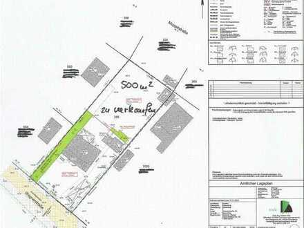 Baugrundstück in Biesenthal.