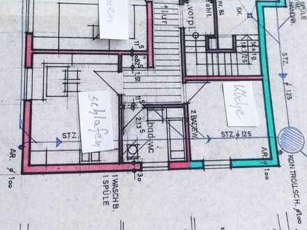 Vollständig renovierte Single 2-Raum-Wohnung Terrasse und Einbauküche Ehingen (Donau) nähe Liebherr