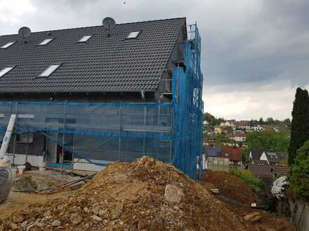 Neubau DHH mit toller Fernsicht als Ausbauhaus oder auf Wunsch schlüsselfertig