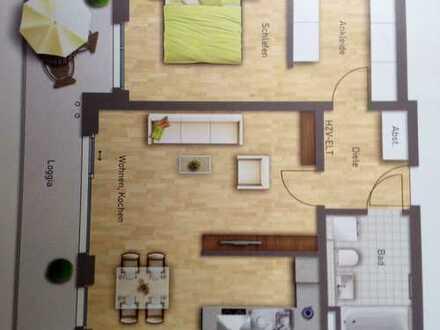 Exklusive 2,5-Zimmer-Wohnung in Obersendling mit Voralpenblick