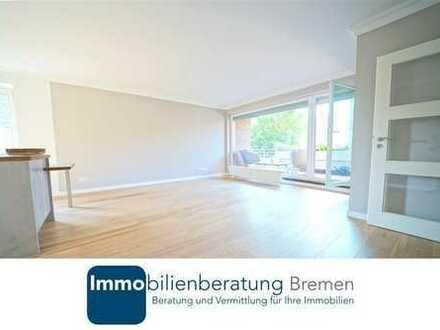 Kernsanierte 2-Zimmerwohnung in Schwachhausen