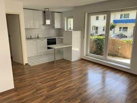 Gepflegte 2-Zimmer-EG-Wohnung mit Balkon, Einbauküche und KfZ-Stellplatz in Wiesloch