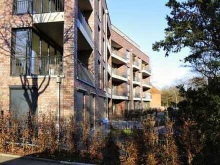 Erstbezug in Fuhlsbüttel- Familiengerechte 4-Zimmer-Erdgeschosswohnung mit großem Garten