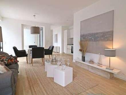 Großzügige, moderne 2 Zimmerwohnung mit zwei Balkonen