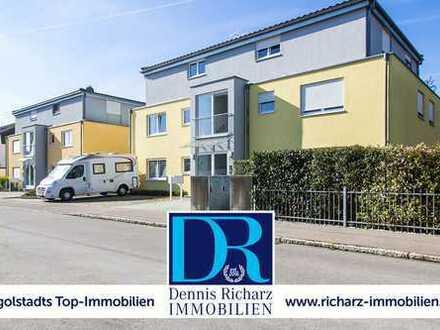Neuwertige 3-Zimmer-Wohnung in Ringsee! Süd-Balkon, Parkettböden & Einbauküche!