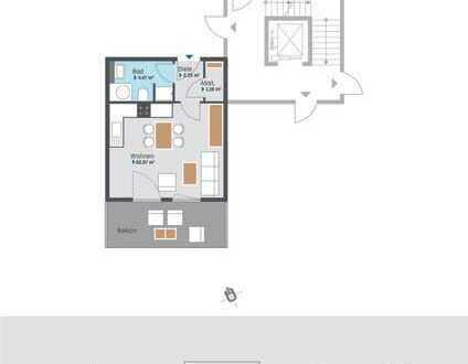 Attraktives 1 Zimmer Apartment