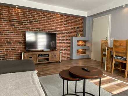 Modernisierte Hochparterre 3-Zimmer-EG-Wohnung mit Balkon und EBK in Worms-Pfeddersheim
