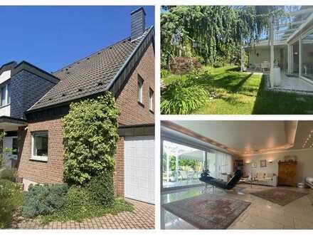 (M)EIN Traum von Lebensfreude! Freistehendes Einfamilienhaus mit Gartenoase & 2 Garagen