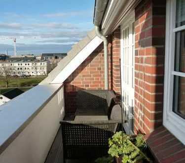 Modernisierte 3-Zimmer-Maisonette-Wohnung mit Balkon und Einbauküche in Bremen