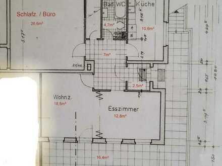 Erstbezug nach Sanierung: attraktive 2,5-Zimmer-Wohnung mit EBK und Balkon in Schöneck
