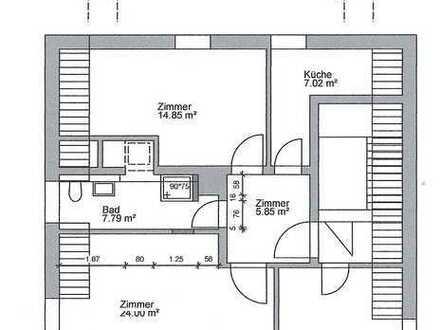 3-Zimmerwohung in Handschuhsheim