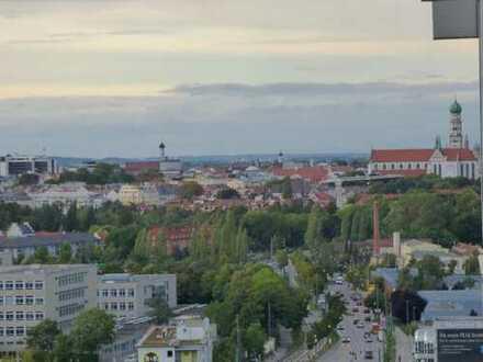 Über den Dächern von Augsburg - 1,5 -Zimmerwohnung als Anlageobjekt oder Selbstbezug
