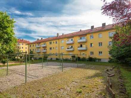 SCHÖN Immobilien: Top vermietete, sehr ruhige 2-Zimmer-Whg mit EBK und Hobbykeller