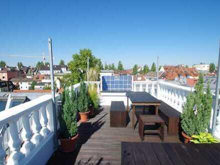 Traumhaftes Altbaujuwel mit Kamin und sonnigem Dachgarten in 1 A-Lage Altschwabing