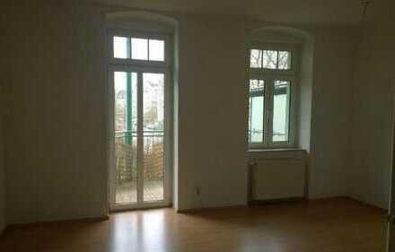 vermietete 3 Raum mit Balkon am Seehaus
