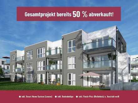 ** Baufeld 8 - Schöne 3-Zimmer Wohnung inkl. Smart Home System u.v.m.**