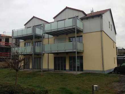 Barrierarme Erdgeschosswohnung im Niedrigenergiehaus