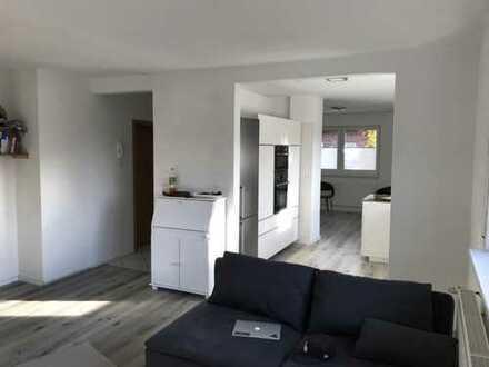 Vollständig renovierte 3-Zimmer-Erdgeschosswohnung mit Terrasse und Einbauküche in Ladbergen