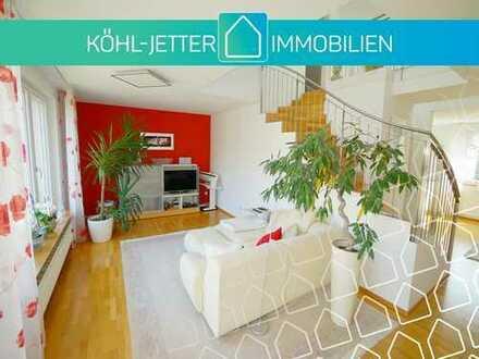 Traumhafte, moderne 3,5 Zi.-Maisonettewohnung in ruhiger Innenstadtlage von Balingen!