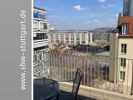 Eine richtig schöne 4 Zimmer Wohnung mit Balkon und Aussicht