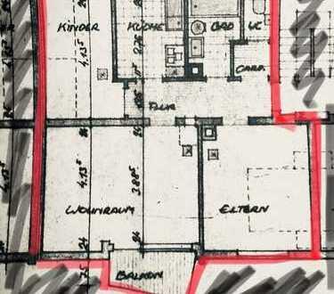 800 €, 65 m², 3 Zimmer