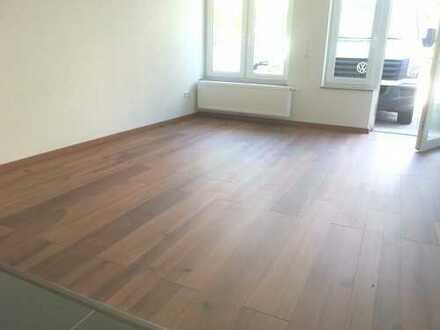 Schwäbsich Hall, 1-Zimmer, neben FH + Bausparkasse mit Terasse + EBK