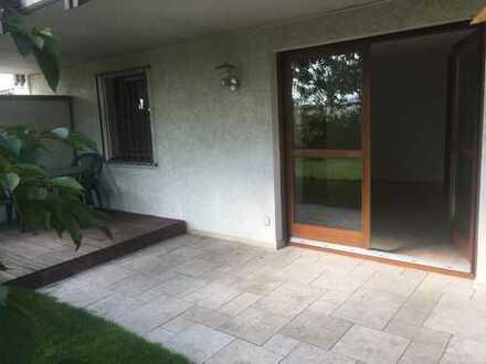 2-Zimmer-ELW mit Terrasse in ruhiger Lage an Wochenendpendler(in) zu vermieten