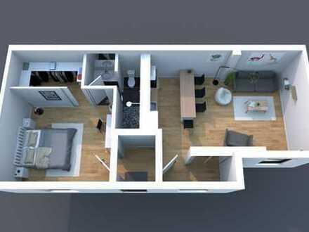 Möblierte Wohnung in Ludwigshafen am Rhein an eine Firma zu vermieten!