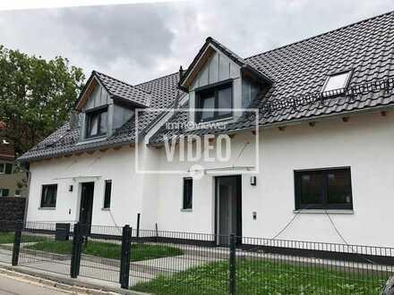 Hochwertig ausgestattete DHH (Neubau) in ruhiger Lage in Haunstetten. An Strassenbahnlinie 3