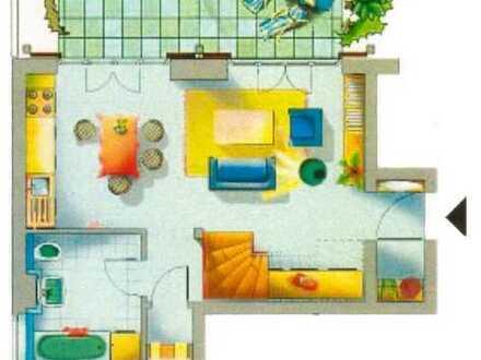 Schöne moderne und offene 3-Raum-Maisonettewohnung